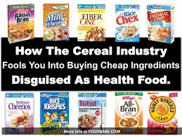 millions of dollars are spent on advertising cereal every year and while most of it aggressively targets children they heavily advertise to s as well