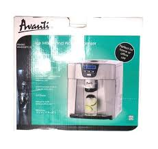 avanti ice maker cleaning and water dispenser portable platinum