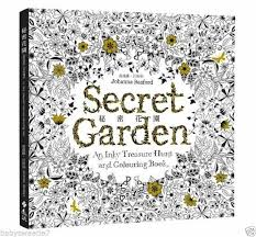 the secret garden an inky treasure hunt and colouring book chinese version