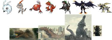Godzilla Evolution Chart With The Will Digimon Forums