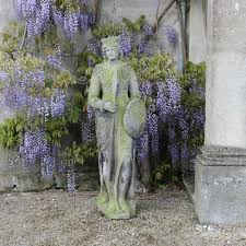 outstanding 19th cent carved stone garden statue