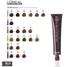 L Oreal Professionnel Colour Chart 76 Unmistakable Dia Richesse Hair Color Chart