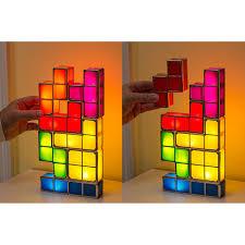 tetris stackable led desk lamp light nz