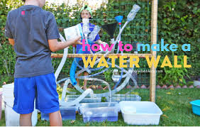 a diy water wall is a great outdoor activity for kids learn how to build