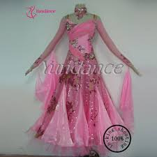 B Modern Costume Designer Us 269 0 Pink Elegant Lovely Adult Modern Girls Ballroom Performance Dress B 11454 In Ballroom From Novelty Special Use On Aliexpress Com