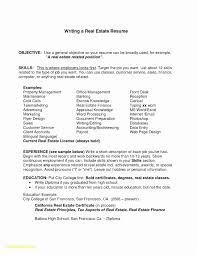 Realtor Resume Examples Beautiful Inspirational Free Line Resume