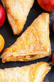 easy apple turnover with puff pastry