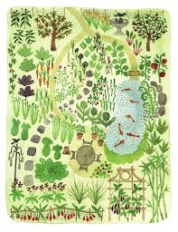 Small Picture Garden layout design illustration from The Wildlife Friendly