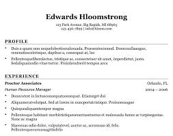 Resume Template Microsoft Word 6835 Butrinti Org