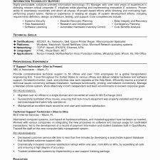 Tech Support Resume Template Dreaded Resume Format For Technicalort Templates Engineer Elegant 12