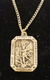 st michael bronze necklace 82nd