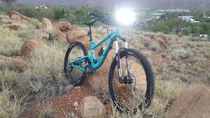 picture of mountain bike led light bar w makita battery