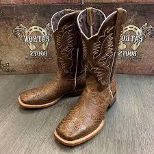 men s rodeo cowboy boots hand tooled