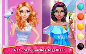mall dressup spa free makeup games screenshot