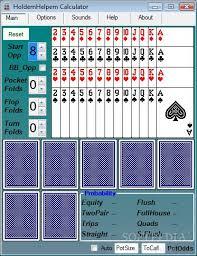Texas Holdem Scoring Chart Poker Hand Odds Chart Online Casino Portal