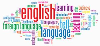 Image: showing many english words.