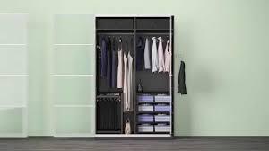 Verschiedene Komplement Lösungen In Einem Ikea Pax Kleiderschrank