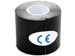 <b>Кинезио лента Bradex Physio</b> Tape 5cm x 5m Black SF 0190 ...
