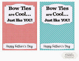 Dr Who Bow Tie Fathers Day Printable Free Time Frolics