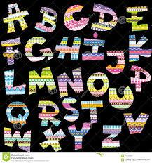 Decorative Letters Decorative Alphabet Letters Royalty Free Stock Photo Image 6127565