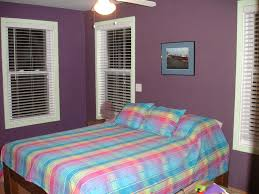 purple and blue bedroom color schemes. Bright Colors To Paint A Bedroom With Two Color Combinations Wall Decorations Kids Room Brown In Carpet Floor Small Studio Apartment Design Purple And Blue Schemes S