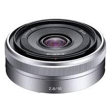 sony e mount lenses. sony 16mm f/2.8 e-mount lens #self28 e mount lenses
