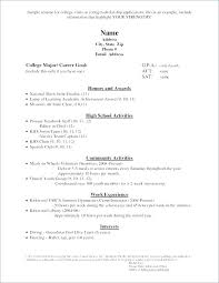 Applicant Resumes College Application Resume Template Emelcotest Com
