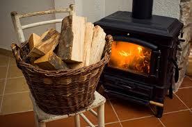 basket full of logs