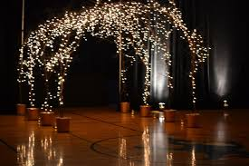 indoor wedding arches. lighted wedding arches indoor