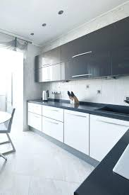 white gloss kitchen cabinets mackintosh in light grey and with mirrored black shiny cabinet doors