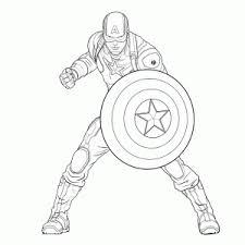 Coole Avengers Superhelden Kleurplaten Leuk Voor Kids