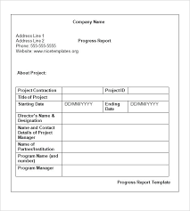 weekly report format in excel free download project progress report template project status report template
