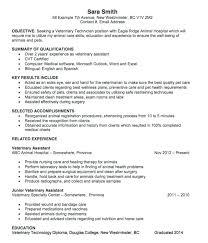 Unique Vet Tech Resume Samples B4 Online Com