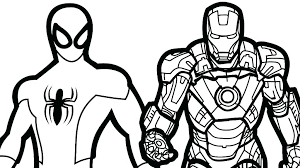Superhero Coloring Pages Printable Pages To Color Marvel Coloring