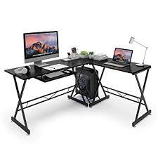 l shape office wooden table corner desk