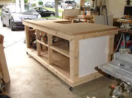 Garage Workbench Plans And Patterns Stunning My Garage Workshop Ultimate Workbench