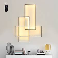 modern led wall lamp surface mounted