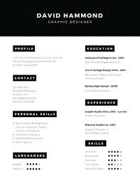 Artsy Resume Templates Best Modern Creative Resume Templates Custom ...