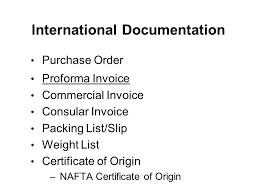 Difference Proforma Commercial Invoice Proforma Invoice Vs