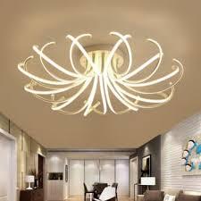 new arrival modern led ceiling chandelier lights for living room bedroom dining study room aluminum led
