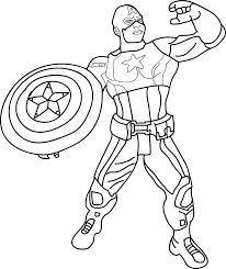 Small Picture Captain America Avengers Coloring Pages Coloring Coloring Pages