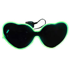 Dark To Light Sunglasses Amazon Com Thenxin Funny Glasses Glow In The Dark Parties