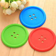 Home, Furniture & DIY Lovely Placemat <b>Round Silicone Coasters</b> ...