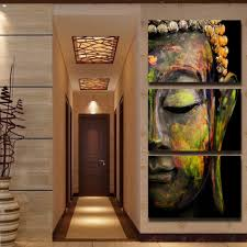 hd printed 3 piece canvas wall art buddha meditation painting statue art canvas prints on 3 piece wall art with hd printed 3 piece canvas wall art buddha meditation painting statue