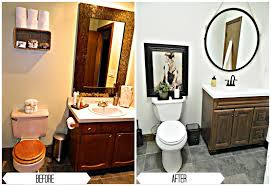 Small Picture Best Bathroom Renovations Before And After Contemporary Home