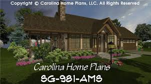 small stone craftsman cottage house plan 2 br 2 baths 1 story