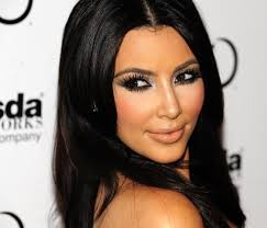 eye here you go belles now you can go with the kim kardashian look step by step