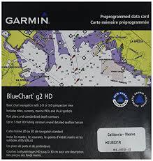 Garmin Bluechart G2 California Mexico Saltwater Map Microsd