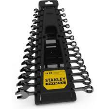 <b>Stanley</b> Fatmax Gun <b>14 Piece</b> Metal Chrome Wrench Set | Canadian ...