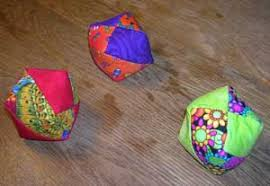 How to make a bean bags Bag Chair Example Of What The Finished Juggling Balls Look Like Amiel Martin Juggling Bean Bag Pattern Step By Step Instructions To Make